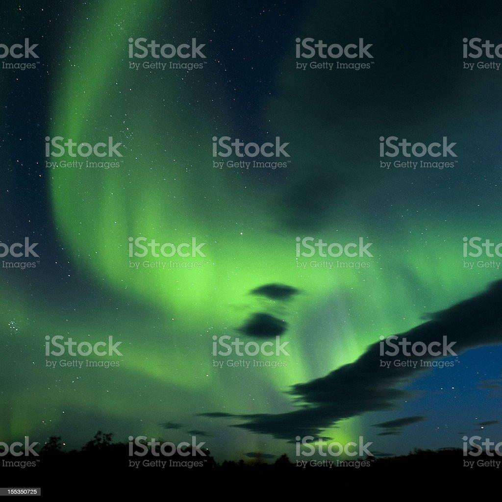 aurora borealis,iceland stock photo