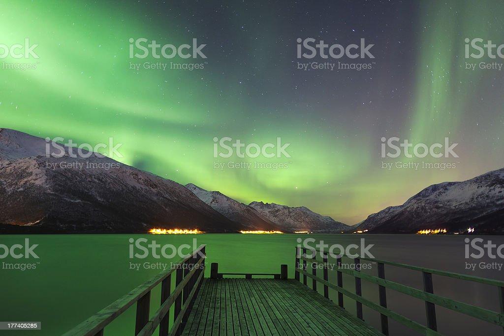 Aurora Jetty stock photo