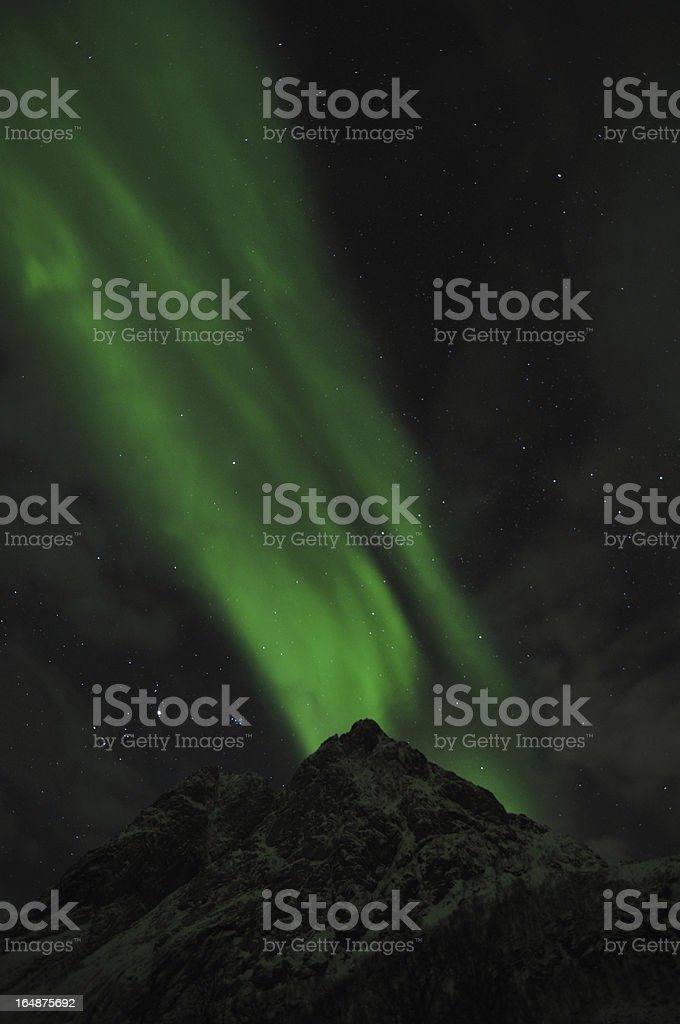 Aurora torch royalty-free stock photo