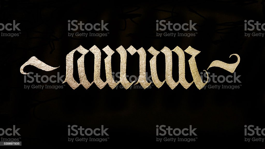Aurum - gold stock photo