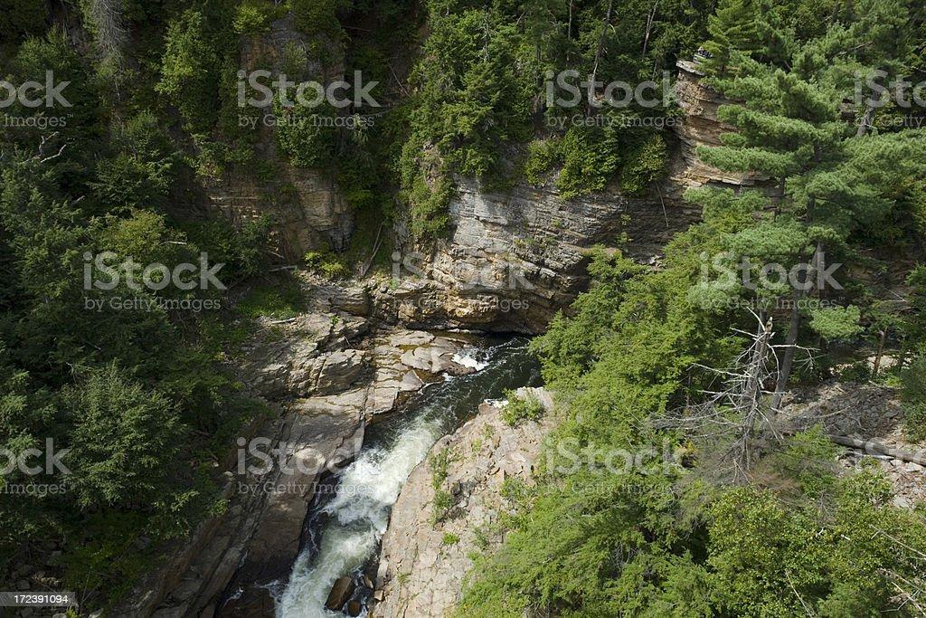 Ausable Chasm stock photo