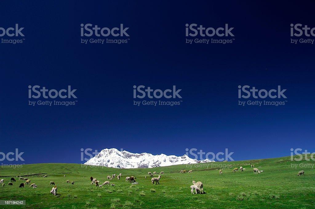 Ausangate Mountain royalty-free stock photo