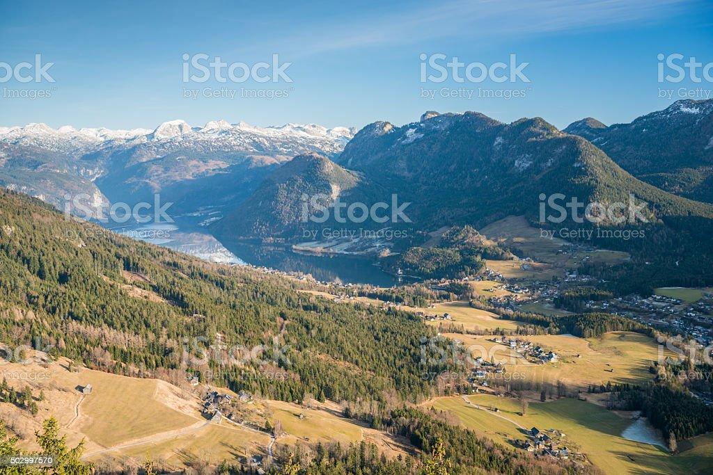 Ausseerland, Salzkammergut, Austria stock photo