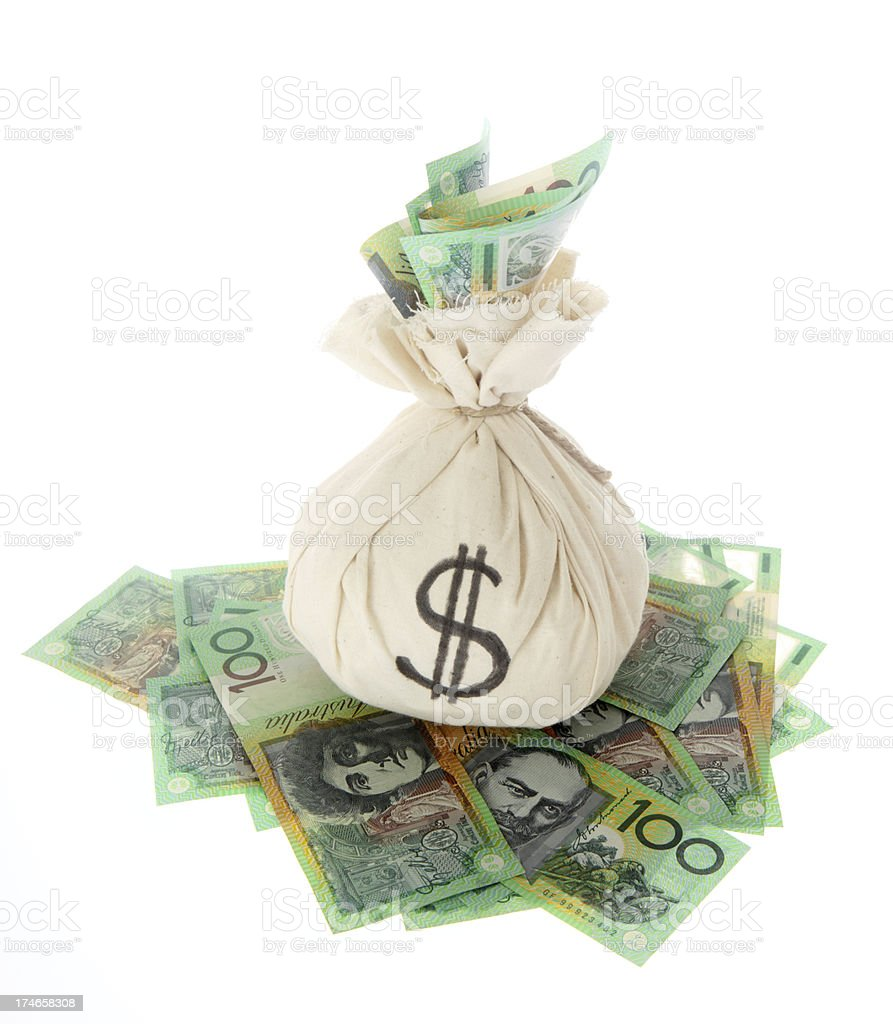 Aussie 100s royalty-free stock photo