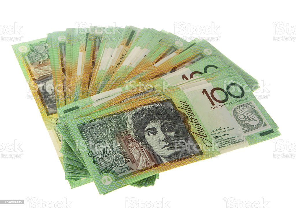 Aussie Greens royalty-free stock photo