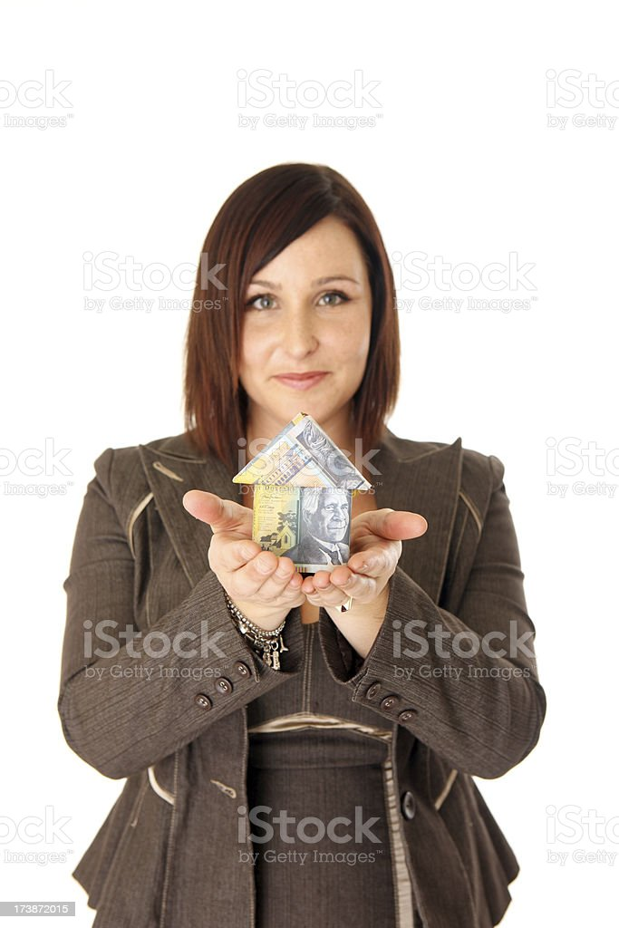 Aussie Home Loan royalty-free stock photo