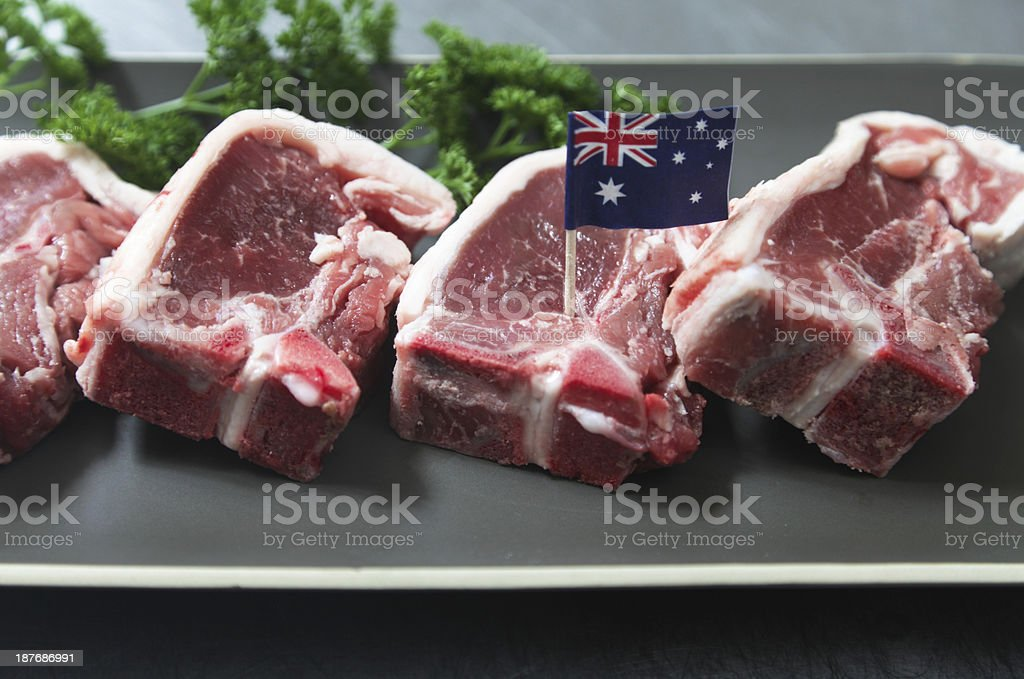 Aussie Lamb royalty-free stock photo