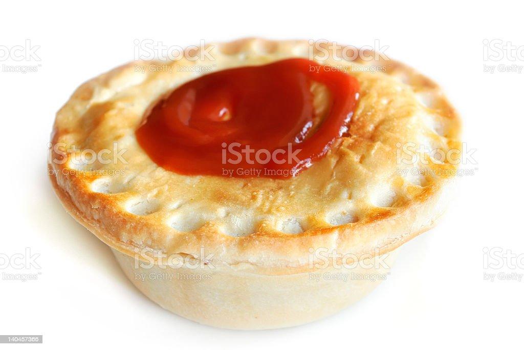 Aussie Meat Pie stock photo