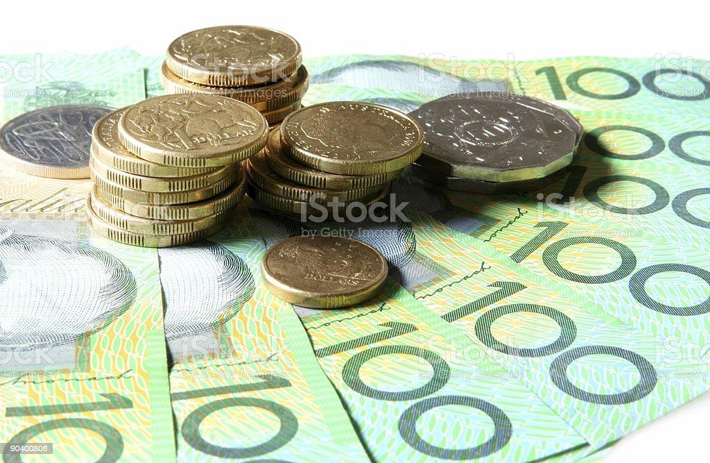Aussie Money stock photo