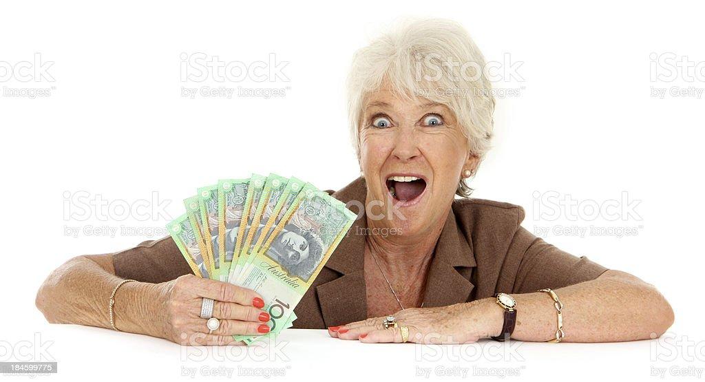 Aussie Winner royalty-free stock photo