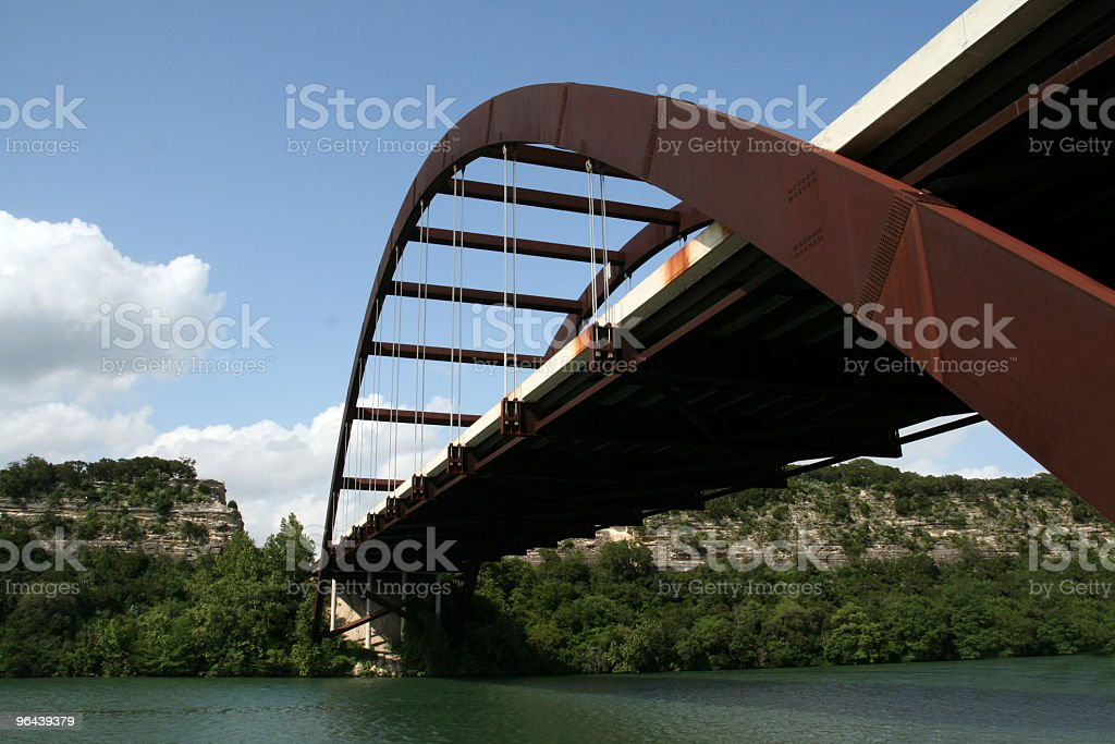 Austin 360 Bridge stock photo