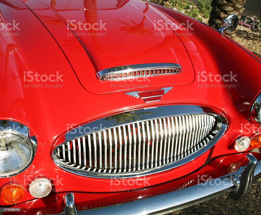 Austin Healey front royalty-free stock photo