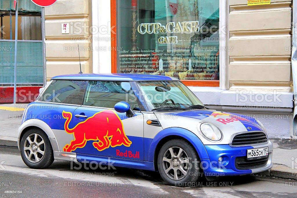 Austin Mini Cooper stock photo