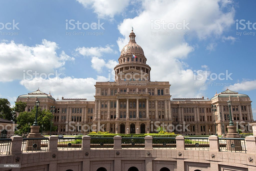 Austin Texas Capitol Building stock photo