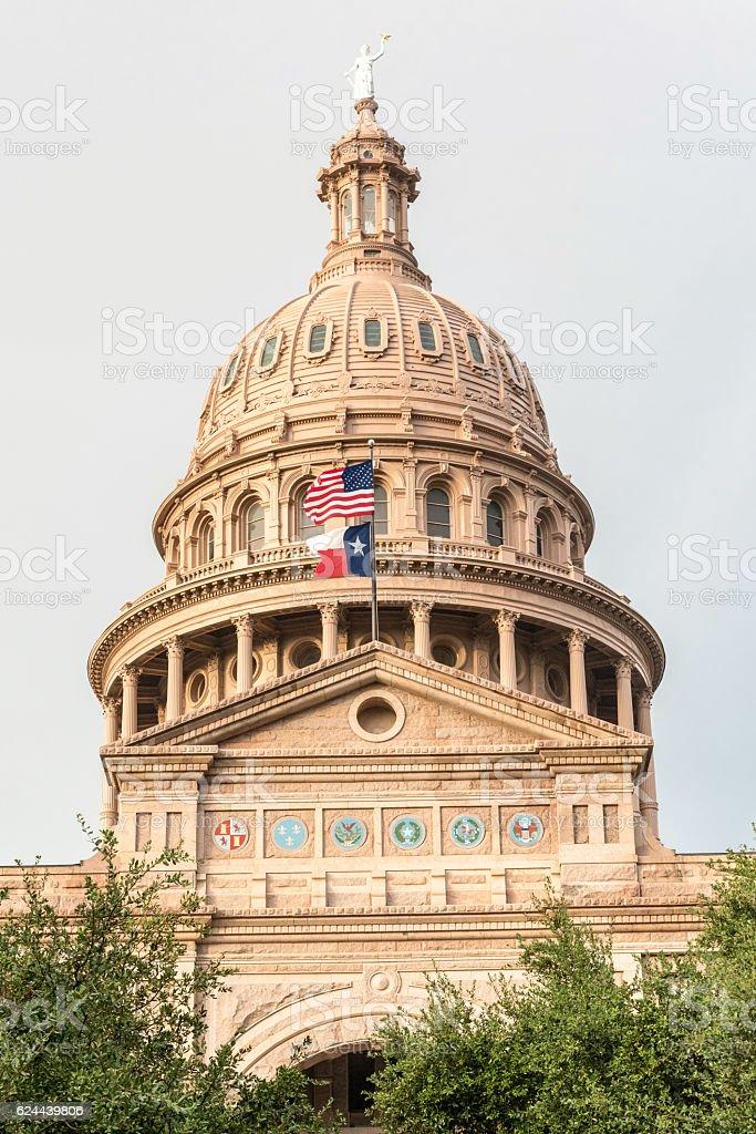 Austin Texas Capitol stock photo