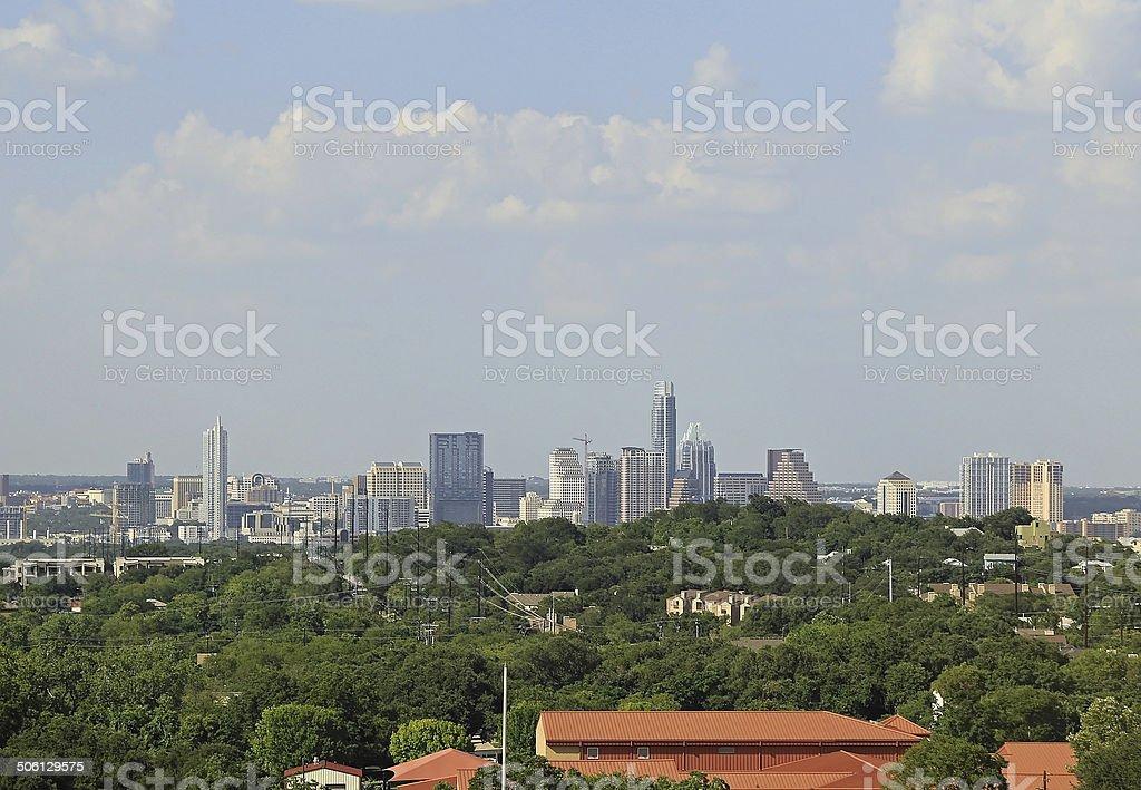Austin Texas Cityscape stock photo