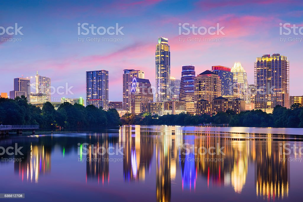 Austin Texas stock photo