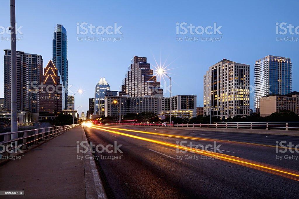 Austin Texas Skyline stock photo