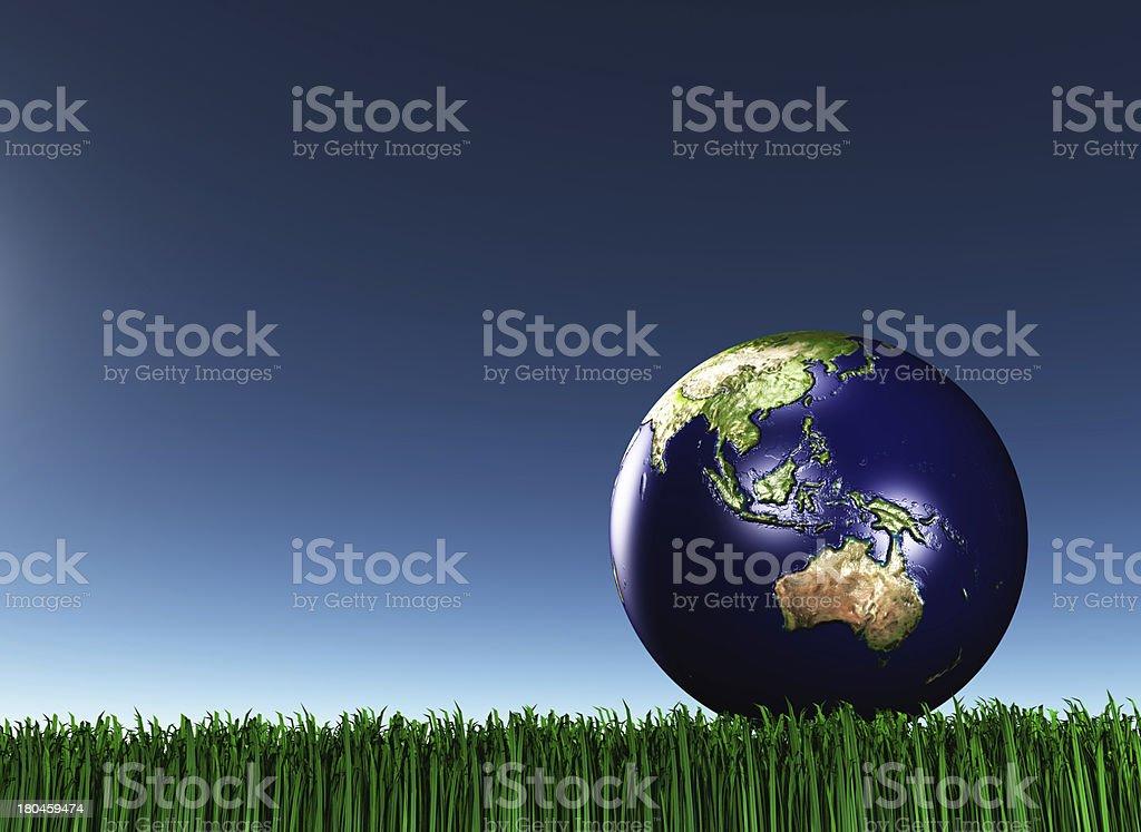 Australasia royalty-free stock photo