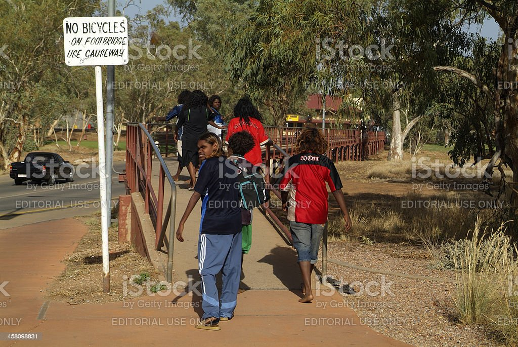 'Australia, Alice Springs,' stock photo