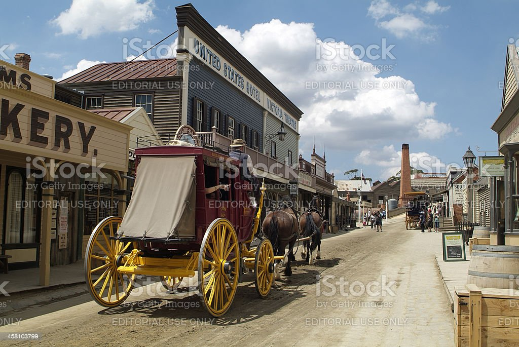Australia, Ballarat, Sovereign Hill, stock photo