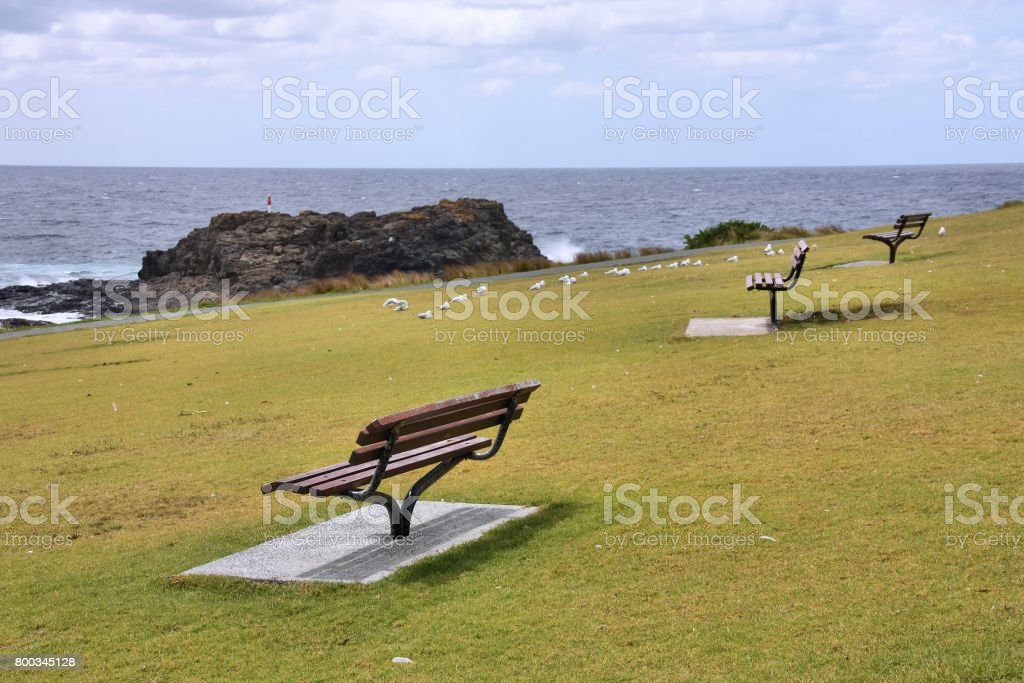 Australia coast stock photo