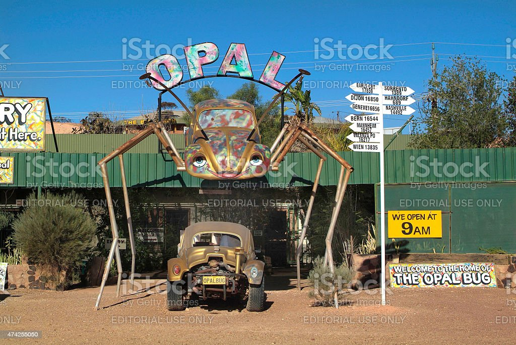 Australia, Coober Pedy stock photo