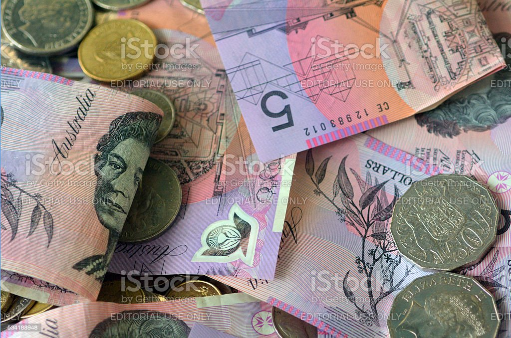 Australia Currency -Australian Money stock photo