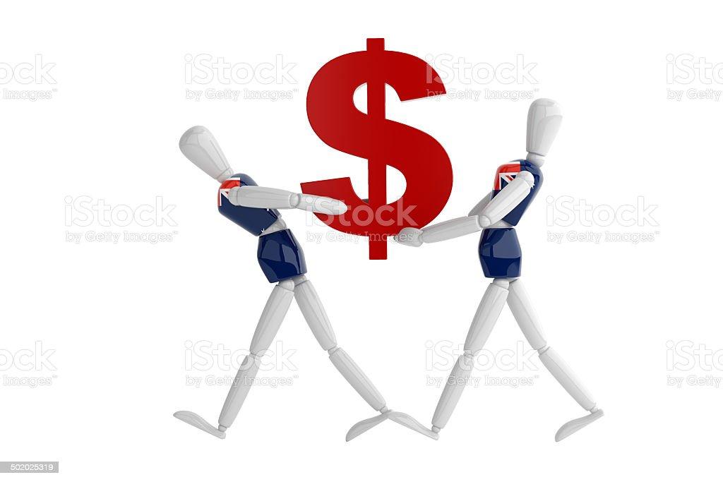 Australia Dollas Currency White Man Stock Photo 502025319 Istock