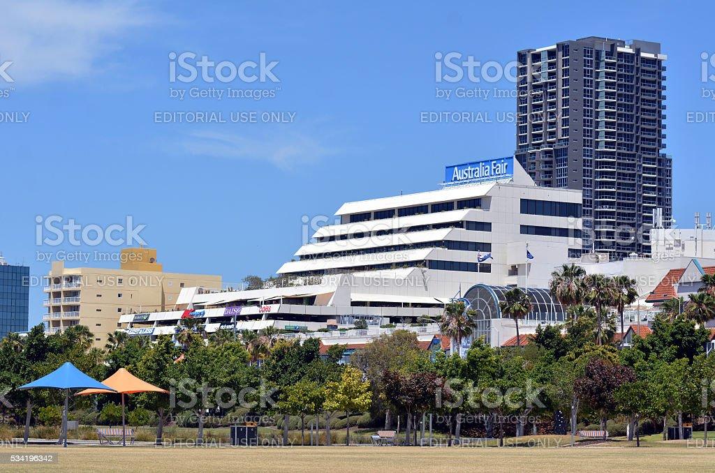 Australia Fair Shopping Centre stock photo