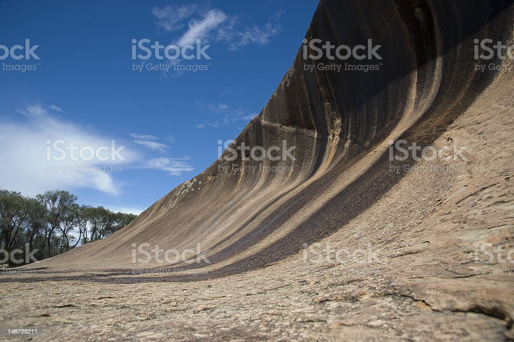 Australia Hyden rock stock photo