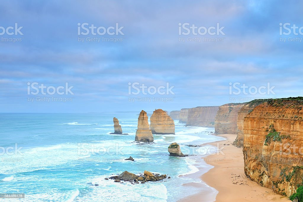 Australia Landscape : Twelve Apostles of Great Ocean Road stock photo