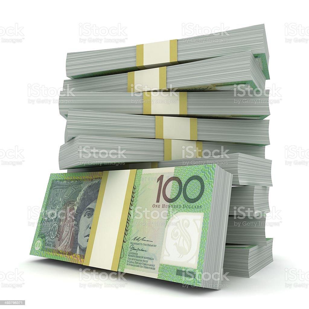 Australia Money stock photo