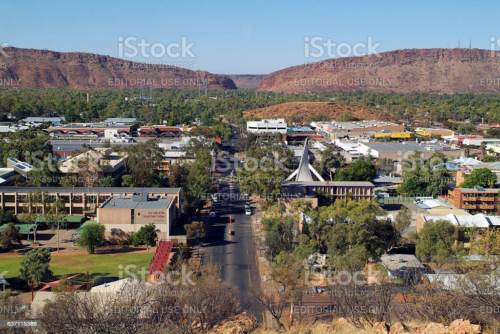 Australia, NT, Alice Springs, stock photo