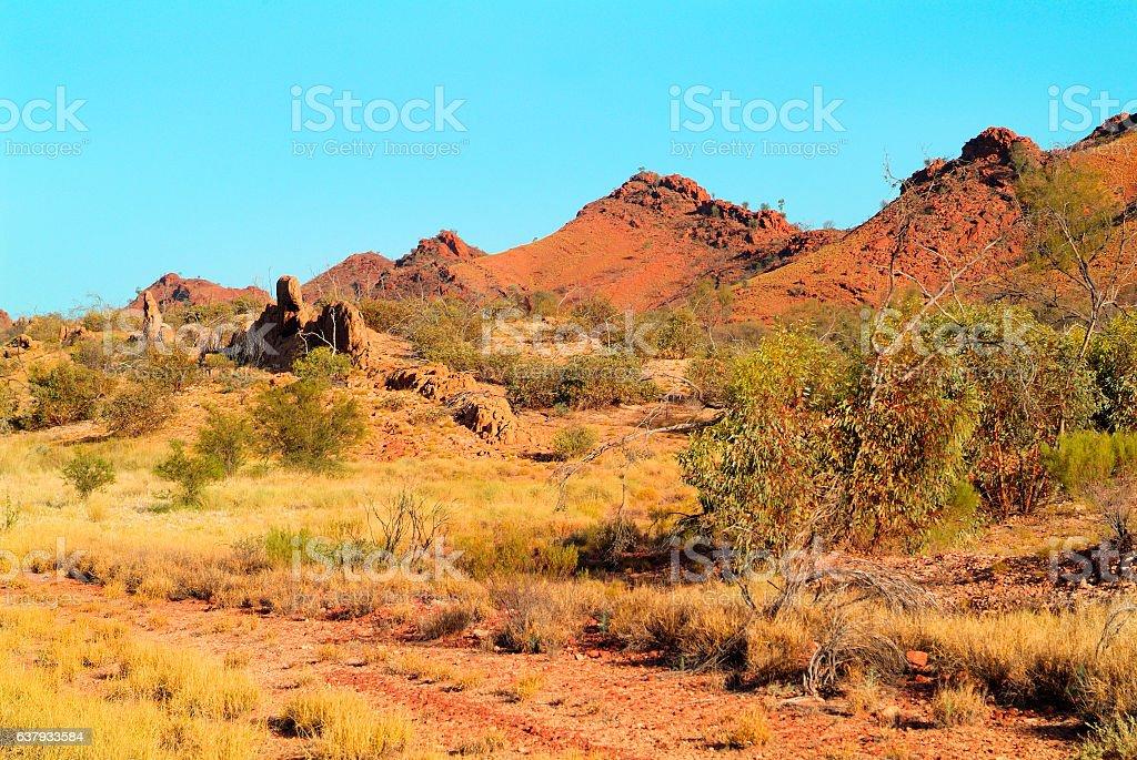 Australia, NT, Mac Donnell Range, stock photo