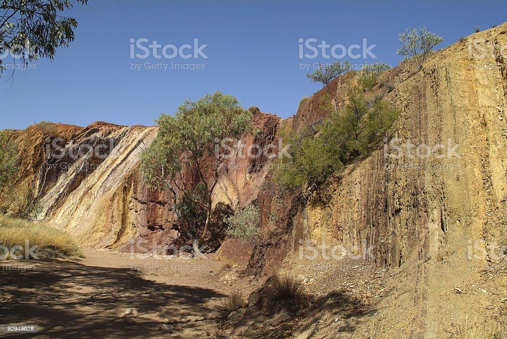 Australia, Ochre pits stock photo