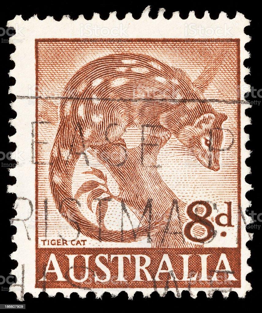 Australia Postage Stamps royalty-free stock photo