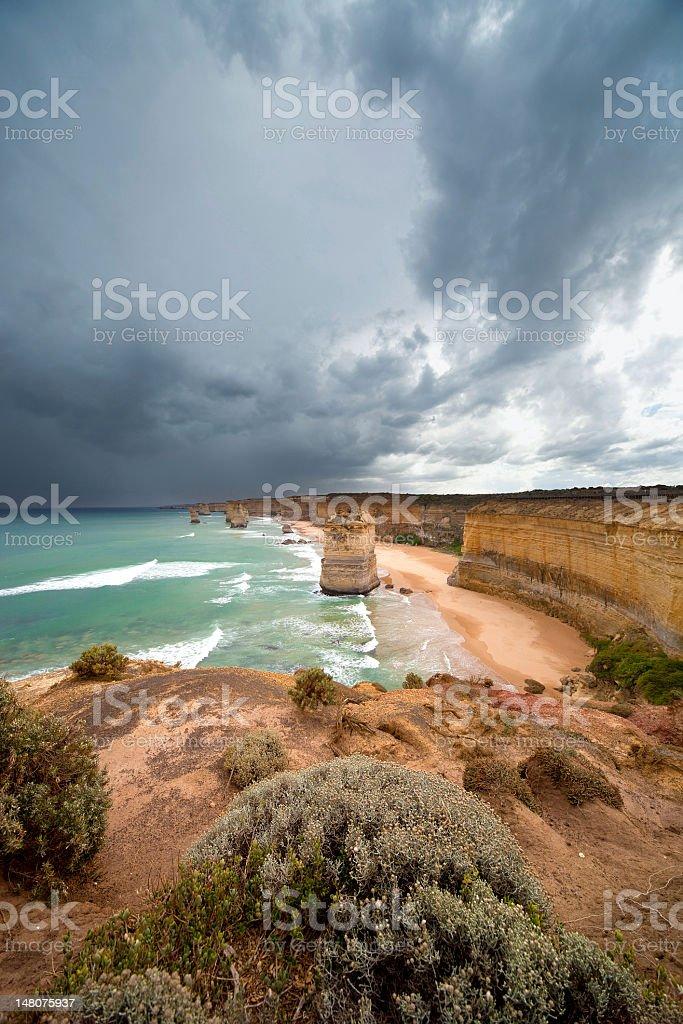 Australia, South Coast royalty-free stock photo