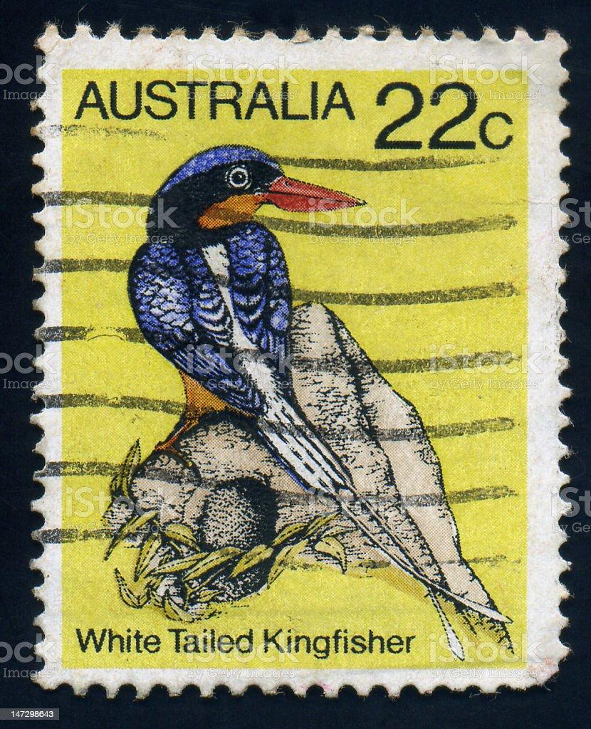 Australia Stamp stock photo