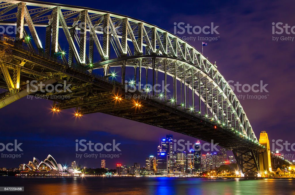 Australia, Sydney City. NSW stock photo