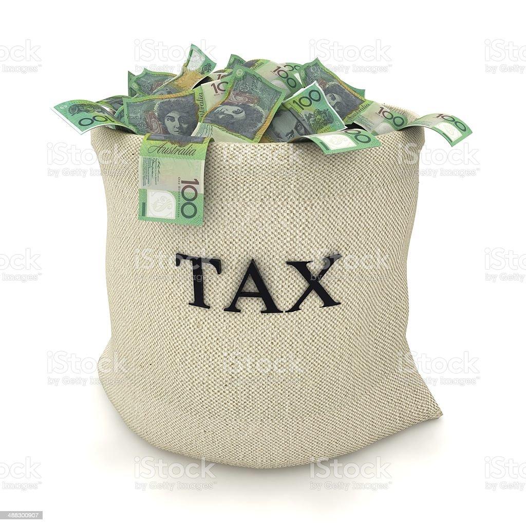 Australia Tax Payment stock photo