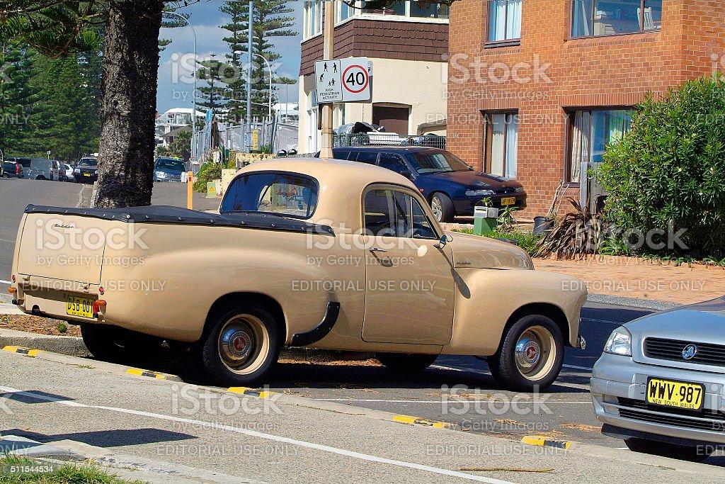Australia, Vintage car stock photo