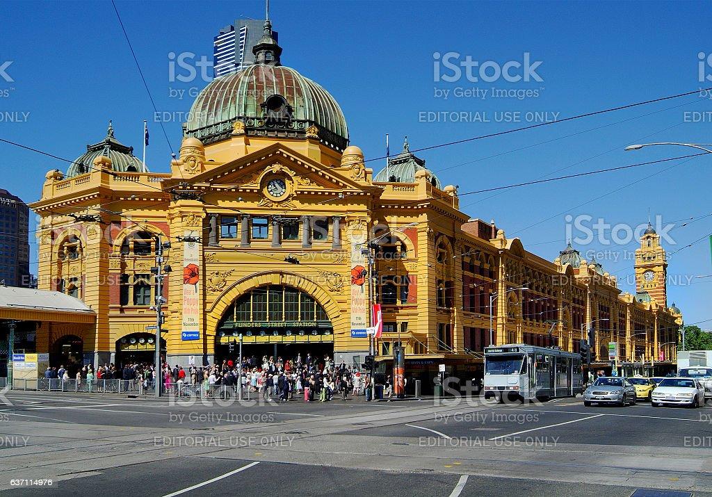 Australia_Melbourne stock photo
