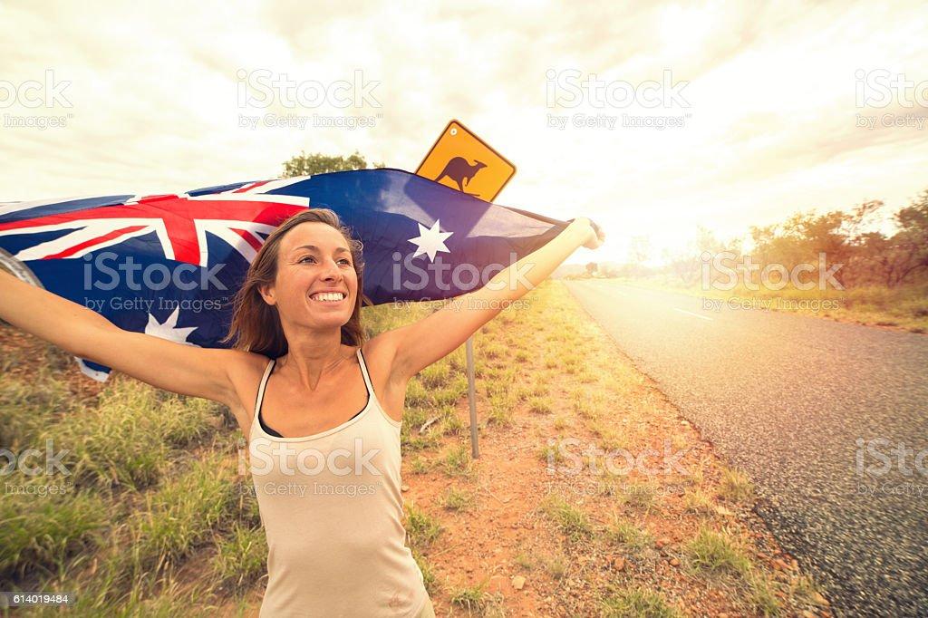 Australian adventure stock photo