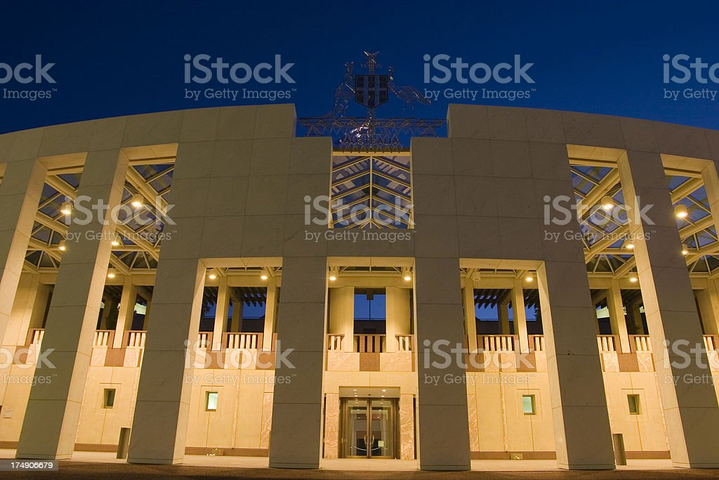 australian capital royalty-free stock photo
