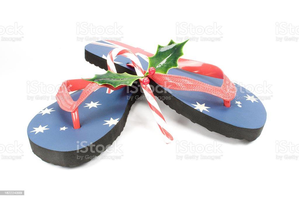australian christmas royalty-free stock photo