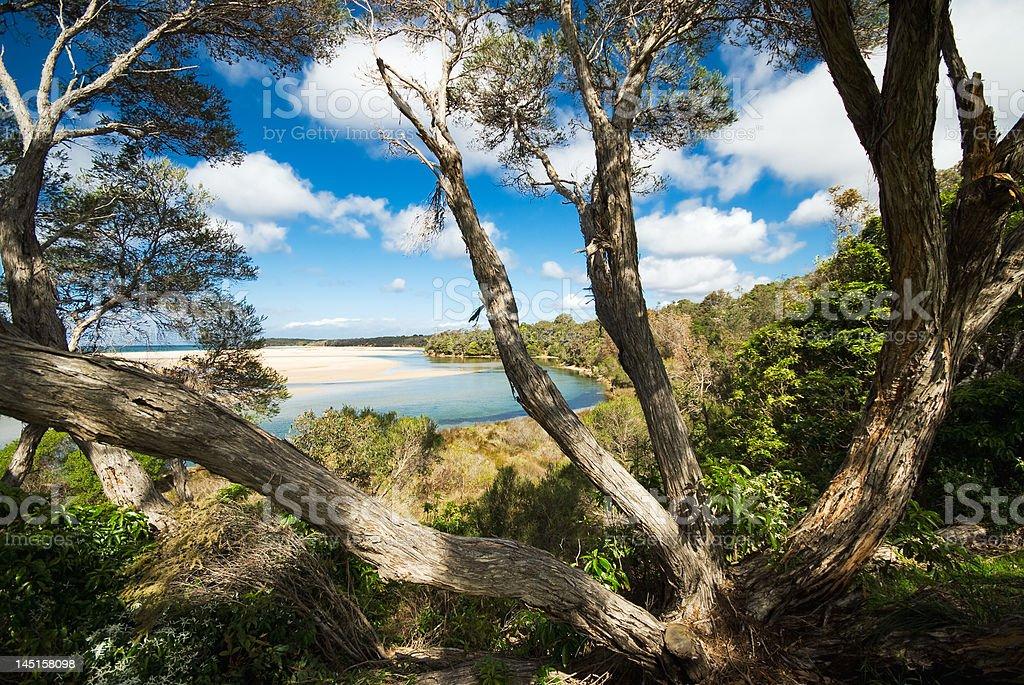 Australian coast royalty-free stock photo