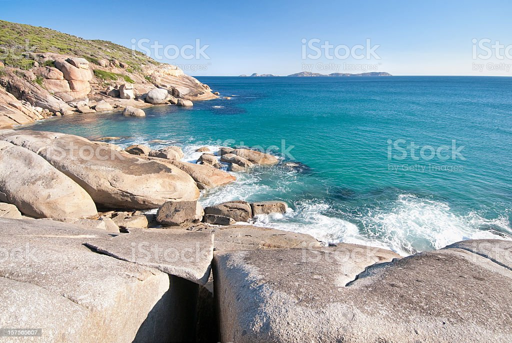 Australian Coast royalty-free stock photo