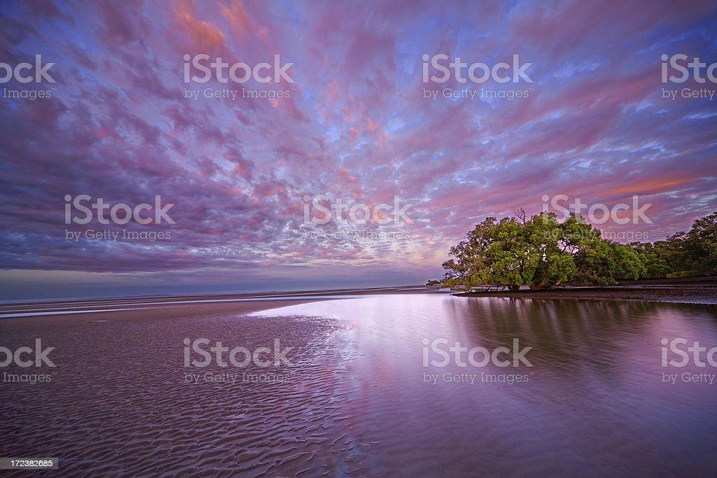 Australian Coastal Landscape royalty-free stock photo