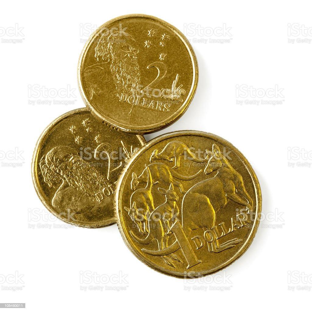 Australian Coins royalty-free stock photo